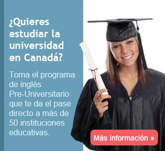 Estudia universidad en Canada