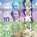 Dinero en Canada