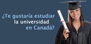 Estudiar universidad Canada