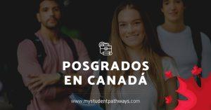 Posgrados en college canada