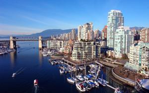 Estuda em Vancouver