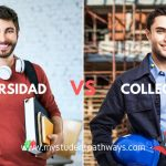 Que es mejor college o universidad en Canadá